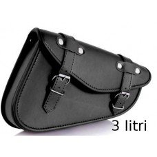 Saddlebag Detroit (black)