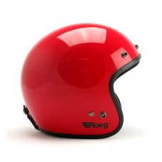 Roeg Jett helmet - Flaming Red Gloss