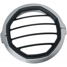 "Kuryakyn 5-3/4"" Headlight Trim Ring - Satin Silver"