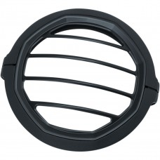 "Kuryakyn 5-3/4"" Headlight Trim Ring - Matt black"