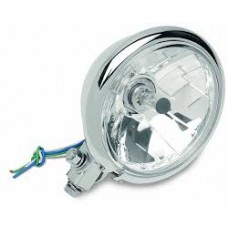 14.5cm diamond style headlight with chrome housing