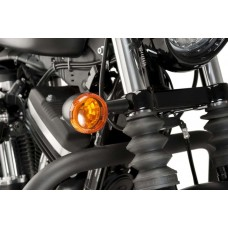 Turn signals relocation brackets for Sportster