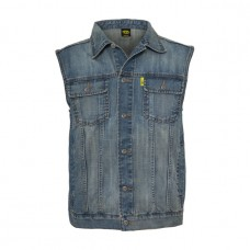 Denim vest - blue