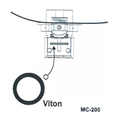 Fuel valve lower o-ring