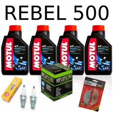 Service kit for Honda Rebel 500