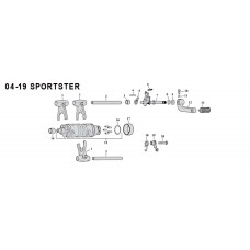 Shifter parts - Sportster