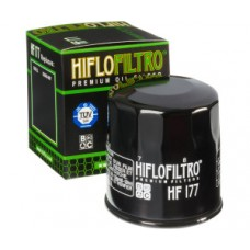 Hiflofiltro oil filter for Harley Davidson - Black