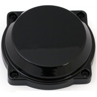 CV carb top cover - Black