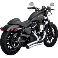 Vance & Hines Big Radius 2in2 - Chrome for Sportster