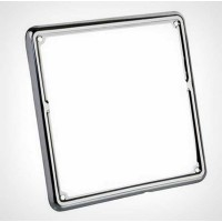 Metal licence frame - Chrome