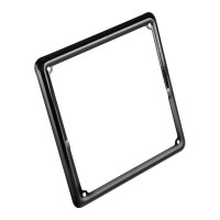 Metal licence frame - Black
