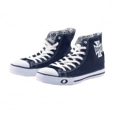 West Coast Choppers canvas shoes - Navy/White