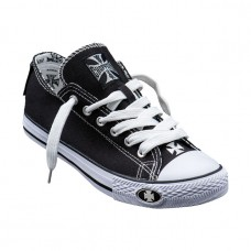 West Coast Choppers canvas Sneakers - Black/White