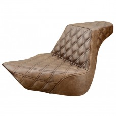 Saddlemen Step-Up LS seat for Softail - Brown