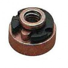 "Seat mounting nut 1/4""-20 for H-D"