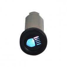 Indicator light 3/8'' - High Beam