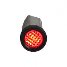 Indicator light 3/8'' - Red